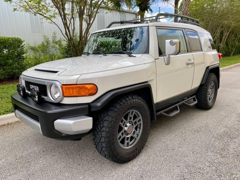 2010 Toyota FJ Cruiser for sale at DENMARK AUTO BROKERS in Riviera Beach FL
