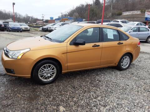 2009 Ford Focus for sale at Martino Motors in Pittsburgh PA