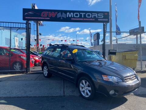 2007 Subaru Outback for sale at GW MOTORS in Newark NJ
