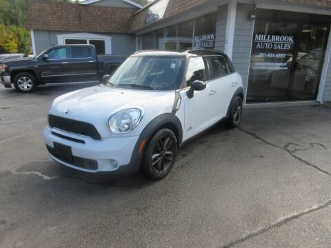 2012 MINI Cooper Countryman for sale at Millbrook Auto Sales in Duxbury MA