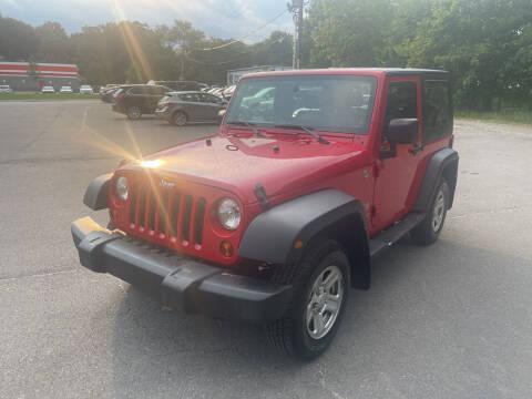 2009 Jeep Wrangler for sale at Washington Auto Repair in Washington NJ