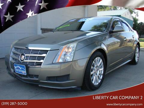2010 Cadillac CTS for sale at Liberty Car Company - II in Waterloo IA
