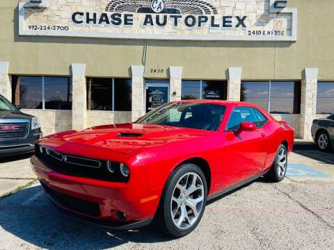 2016 Dodge Challenger for sale at CHASE AUTOPLEX in Lancaster TX