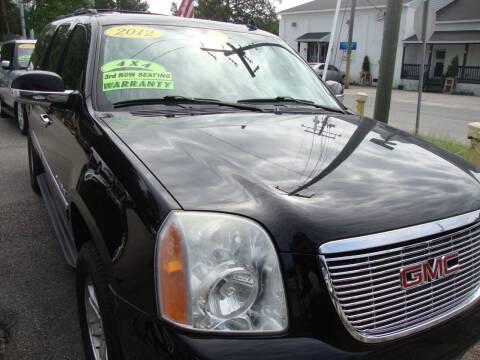 2012 GMC Yukon XL for sale at Easy Ride Auto Sales Inc in Chester VA