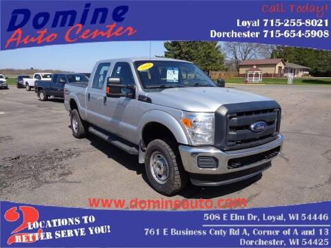 2015 Ford F-250 Super Duty for sale at Domine Auto Center in Loyal WI