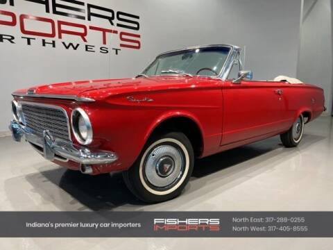 1963 Plymouth Valiant for sale at Fishers Imports in Fishers IN