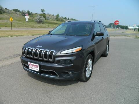 2016 Jeep Cherokee for sale at Dick Nelson Sales & Leasing in Valley City ND