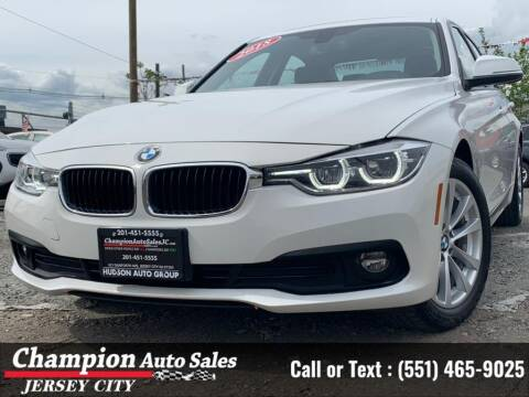 2018 BMW 3 Series for sale at CHAMPION AUTO SALES OF JERSEY CITY in Jersey City NJ