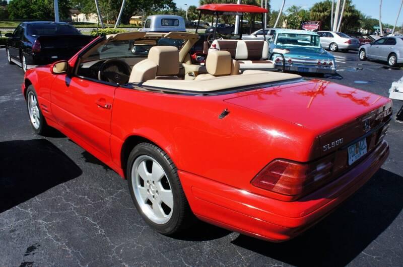 1999 Mercedes-Benz SL-Class for sale at Dream Machines USA in Lantana FL