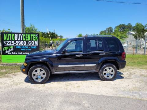 2006 Jeep Liberty for sale at AutoBuyCenter.com in Summerville SC