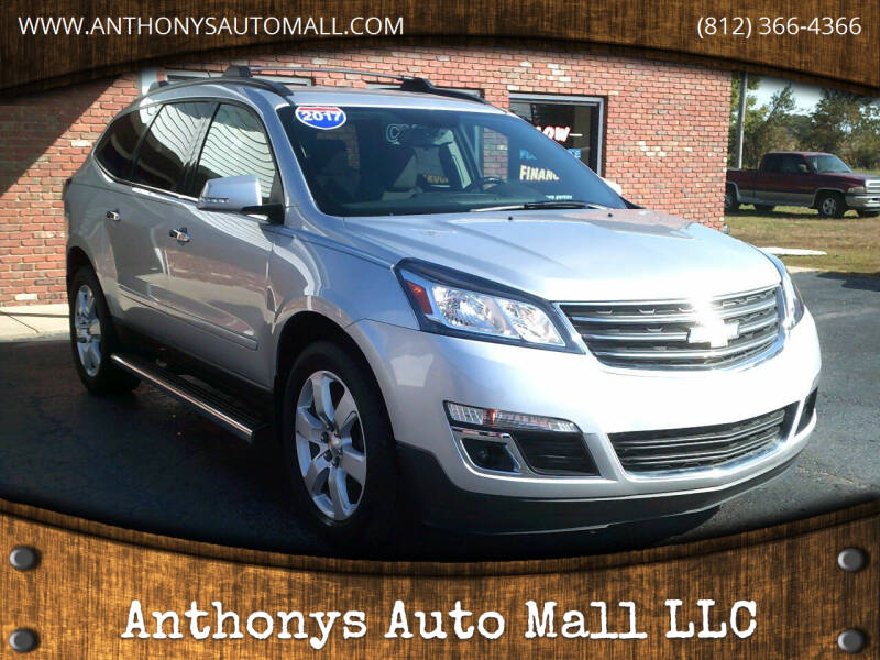 2017 Chevrolet Traverse for sale at Anthonys Auto Mall LLC in New Salisbury IN