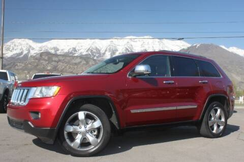 2012 Jeep Grand Cherokee for sale at REVOLUTIONARY AUTO in Lindon UT