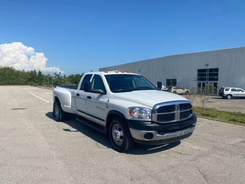 2006 Dodge Ram Pickup 3500 for sale at Prestige Auto of South Florida in North Port FL