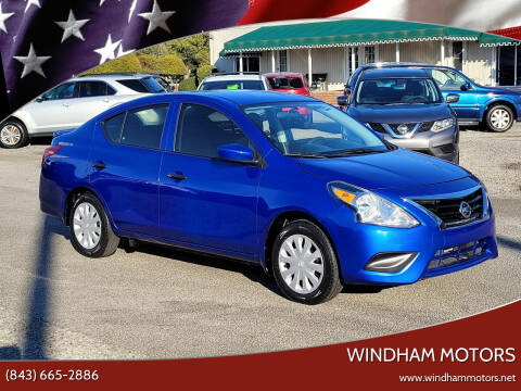 2017 Nissan Versa for sale at Windham Motors in Florence SC