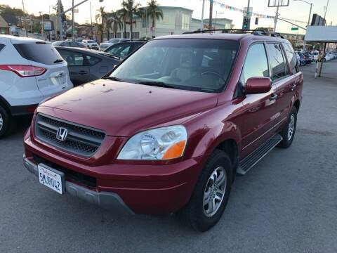 2005 Honda Pilot for sale at Car House in San Mateo CA