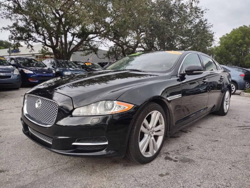 2013 Jaguar XJL for sale in Plantation, FL