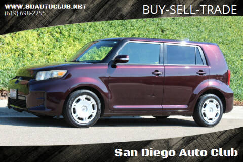 2012 Scion xB for sale at San Diego Auto Club in Spring Valley CA