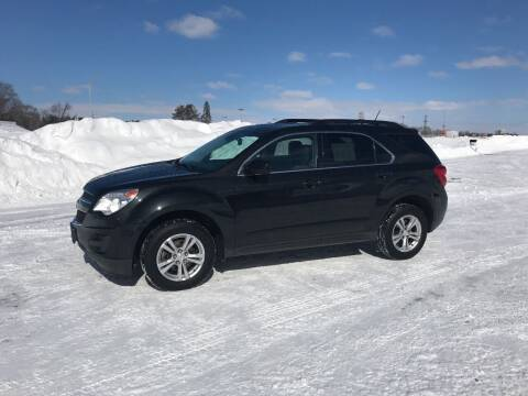 2013 Chevrolet Equinox for sale at BLAESER AUTO LLC in Chippewa Falls WI