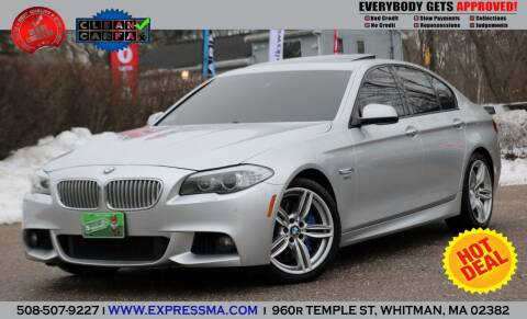 2011 BMW 5 Series for sale at Auto Sales Express in Whitman MA