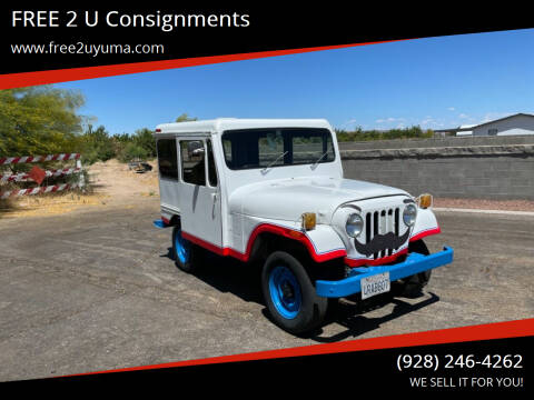 1978 Jeep Wrangler for sale at FREE 2 U Consignments in Yuma AZ