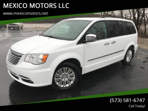 2015 Chrysler Town and Country for sale at MEXICO MOTORS LLC in Mexico MO