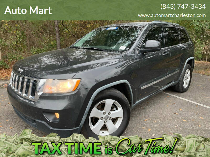 2011 Jeep Grand Cherokee for sale at Auto Mart in North Charleston SC