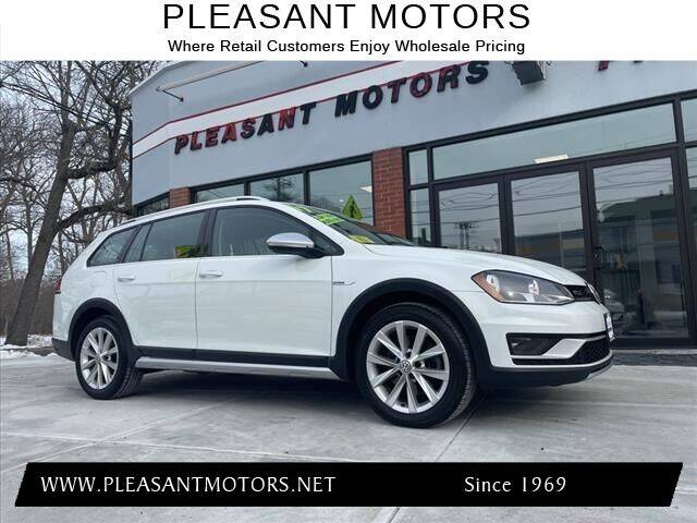 2017 Volkswagen Golf Alltrack for sale at Pleasant Motors in New Bedford MA