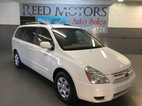 2009 Kia Sedona for sale at REED MOTORS LLC in Phoenix AZ