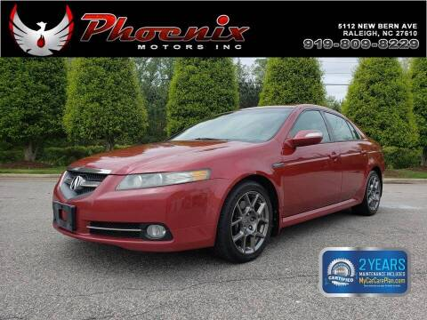 2008 Acura TL for sale at Phoenix Motors Inc in Raleigh NC