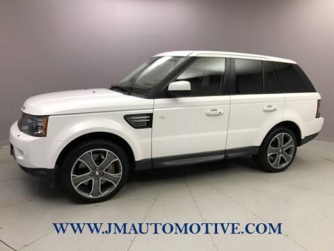 2012 Land Rover Range Rover Sport for sale at J & M Automotive in Naugatuck CT