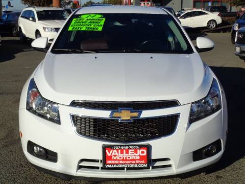 2014 Chevrolet Cruze for sale at Vallejo Motors in Vallejo CA