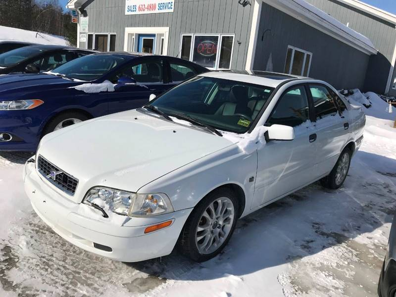 2004 Volvo S40 for sale at Mascoma Auto INC in Canaan NH