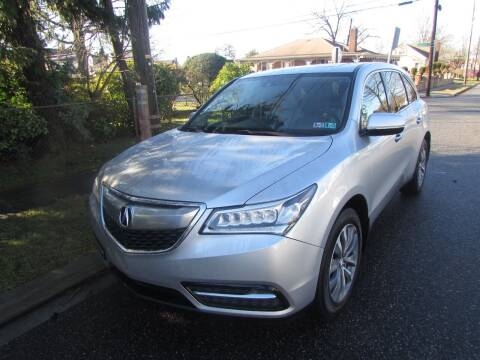 2014 Acura MDX for sale at First Choice Automobile in Uniondale NY