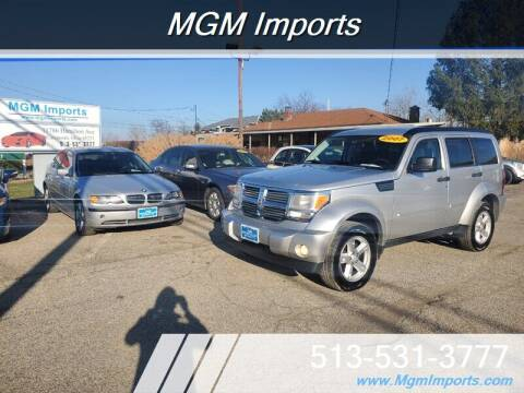 2007 Dodge Nitro for sale at MGM Imports in Cincannati OH