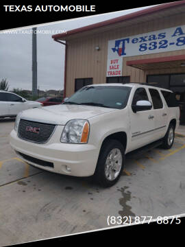 2010 GMC Yukon XL for sale at TEXAS AUTOMOBILE in Houston TX