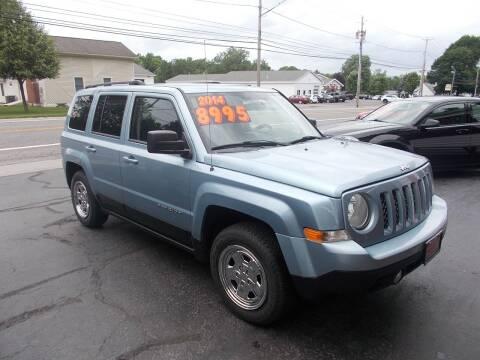2014 Jeep Patriot for sale at Dansville Radiator in Dansville NY