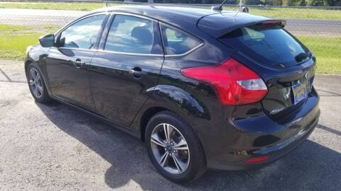 2014 Ford Focus for sale at COLLECTABLE-CARS LLC in Nacogdoches TX
