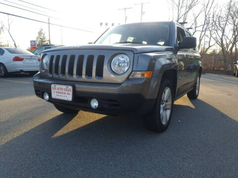 2012 Jeep Patriot for sale at Gia Auto Sales in East Wareham MA