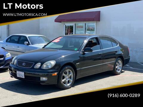 2003 Lexus GS 300 for sale at LT Motors in Rancho Cordova CA