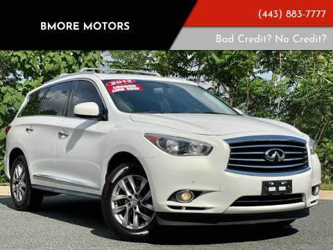 2013 Infiniti JX35 for sale at Bmore Motors in Baltimore MD