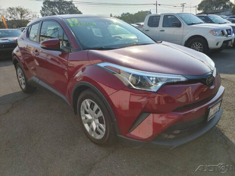 2019 Toyota C-HR for sale at Guy Strohmeiers Auto Center in Lakeport CA