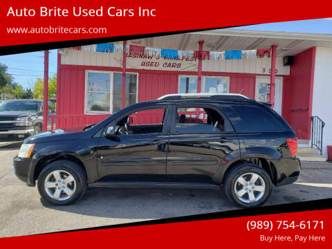 2007 Pontiac Torrent for sale at Auto Brite Used Cars Inc in Saginaw MI