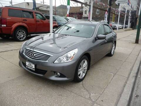 2013 Infiniti G37 Sedan for sale at CAR CENTER INC in Chicago IL