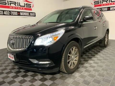 2017 Buick Enclave for sale at SIRIUS MOTORS INC in Monroe OH
