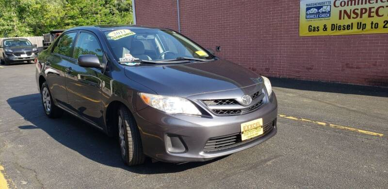 2011 Toyota Corolla for sale at Exxcel Auto Sales in Ashland MA