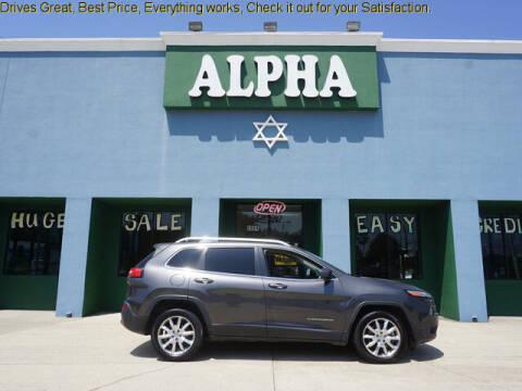 2014 Jeep Cherokee for sale at ALPHA AUTOMOBILE SALES, LLC in Lafayette LA
