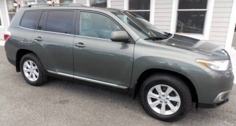 2013 Toyota Highlander for sale at Bachettis Auto Sales in Sheffield MA
