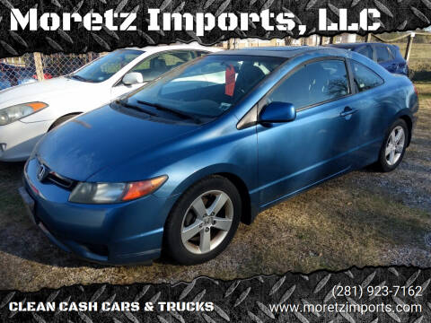 2007 Honda Civic for sale at Moretz Imports, LLC in Spring TX