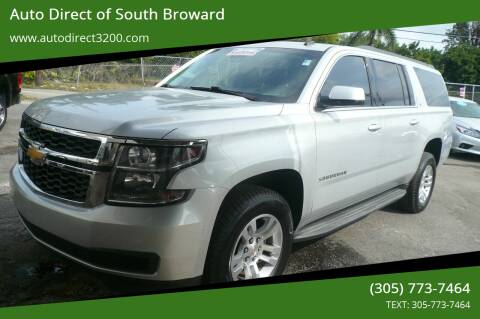2015 Chevrolet Suburban for sale at Auto Direct of South Broward in Miramar FL