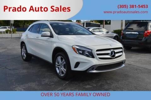 2015 Mercedes-Benz GLA for sale at Prado Auto Sales in Miami FL